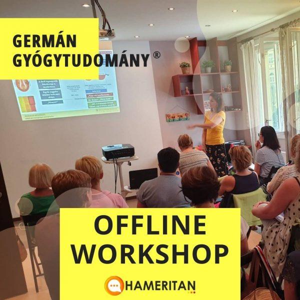 Hameritan - Török Gabriella - Germán Gyógytudomány online tanfolyam - offline tanfolyam